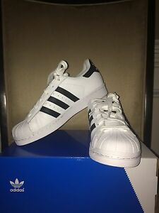 Whiteblack Kylie Originals Jenner Adidas Shoes Kids 6 Superstar UMVpSz