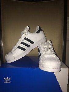 qtmyu ADIDAS Kylie Jenner Originals Superstar Shoes WHITE/BLACK Kids 6
