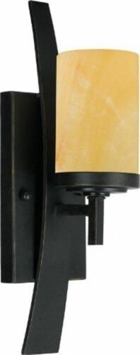 "Imperial Bronze Quoizel KY8701IB Kyle 1-Light Wall Sconce Fixture 16/"" 2 Pack"