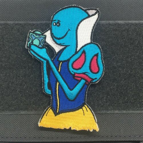 BAD MEESEEKS BOX MORALE PATCH rick and morty look at me i/'m mr snow white apple