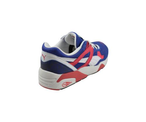Bleu Puma R698 blanc Trinomic Baskets Mazarine chaussures r88qFwtp