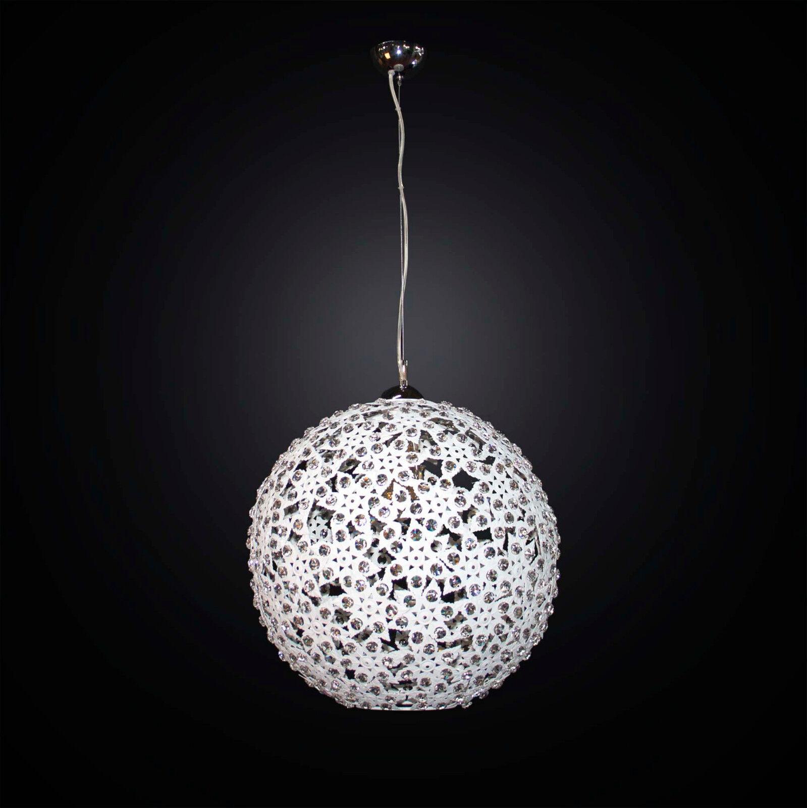negozio di moda in vendita Lampadario moderno bianco design cristallo 1 luce luce luce BGA 2790 S40  il prezzo più basso