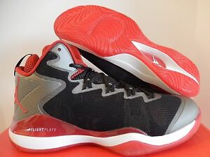 premium selection 68a99 82afe NIKE AIR JORDAN SUPER.FLY 3 X SLAM DUNK BLACK-VAR RED-WHITE SZ 12 ...