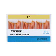 Dental Gutta Percha Points F1 For Endo Root Canal Obturating 60pcsbox Az