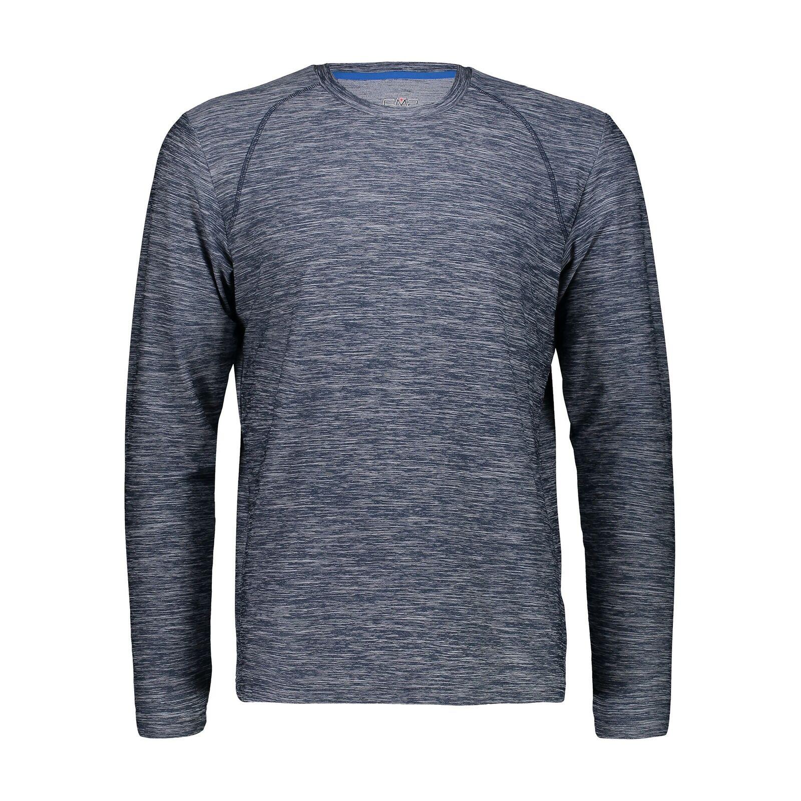 CMP Kleid Shirt Ein T-Shirt Blau Atembare Elastische Antibakterielle