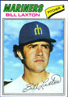 1977 Topps Bill Laxton #394 Baseball Card