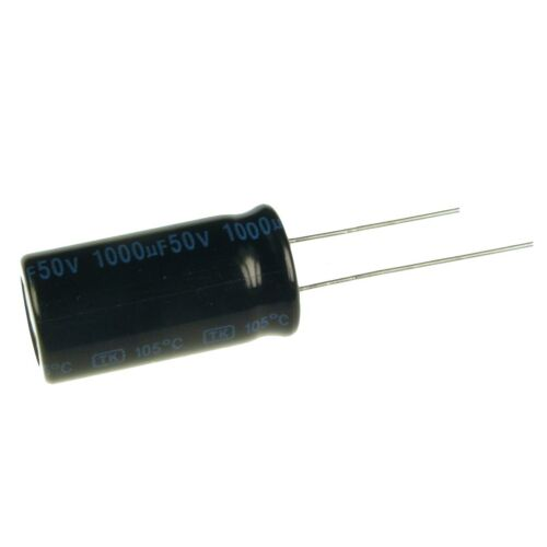 5 Elko condensador radial Jamicon TK 1000uf 50v 105 ° C 073401