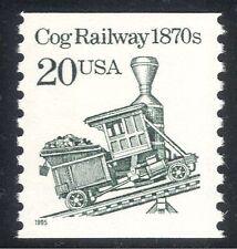 USA 1985 vapore/Treno/Cog Railway/trasporto 1v (n24280)