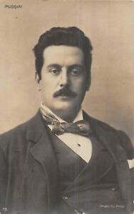 POSTCARD     MUSIC    COMPOSERS    PUCCINI