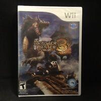 Monster Hunter Tri (nintendo Wii) Brand / Region Free