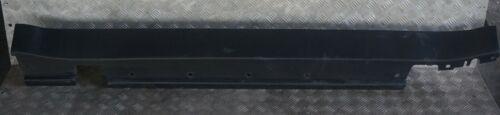 BMW Mini R50 Park Lane Panel guarnecido Falda De Tapa Lateral Izquierda N//S negro//negro