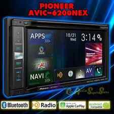 "PIONEER AVIC-6200NEX FLAGSHIP IN-DASH GPS AV RECEIVER 6.2"" WVGA DISPLAY CARPLAY"