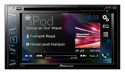 "Pioneer DVD player AVH-290BT , 6.2"" DVD/CD/iPhone/USB/Bluetooth Rcvr"