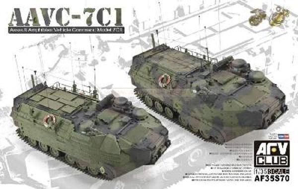 Amphibious assault craft us. aavc - 7c1-afv club 1 35 kit s70