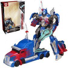 Transformers 5 The Last Knight Optimus Prime Megatron Kids Action Figures Toys