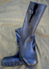 Soviet Rus Army Military Jack Boots with belts size 44 (EU45,US 11) Yuft-kirza