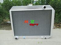 Aluminum Radiator For Chrysler Dodge Polara Plymouth 7.2 V8 440 Engine 1966-1970