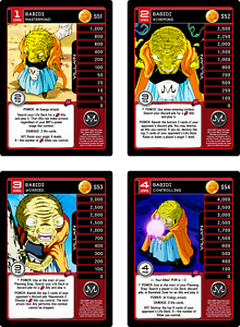 Babidi Level 1-4 MP Set Foil Dragon Ball Z DBZ TCG Proxy Escalation Set 11