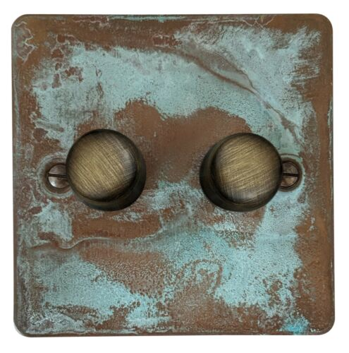 Plug Sockets Flat Plate Verdigris FVB Light Switches TV Fuse Dimmers,Cooker