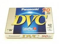 Panasonic Single 60min Mini DV Camcorder Digital Cassette Tape DVM60 AY-DVM60FE*