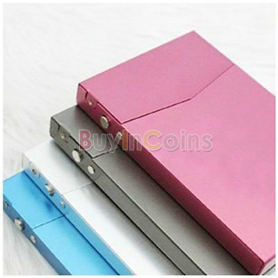 Pocket Professional Business Name Credit ID Card Case Metal Cover Box Holder