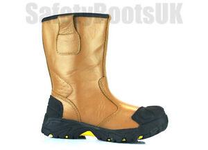 amp; Midsole Amblers FS209 Riggers Boots Steel Toe Caps Amblers Riggers