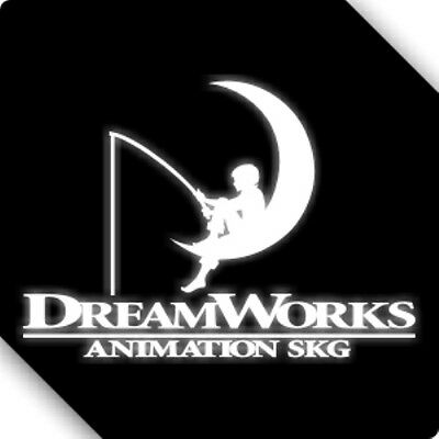 3M Reflective Dreamworks Movie Film Car Sticker Decal 00498 12x9CM