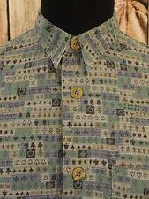 SIGNUM Hemd Freizeithemd Herrenhemd Oberhemd langarm Gr. M  TOP!!!  (MH1851)