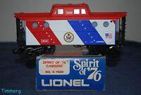 Lionel Trains 6-7600 Spirit Of '76 Frisco N5c Porthole Window Caboose