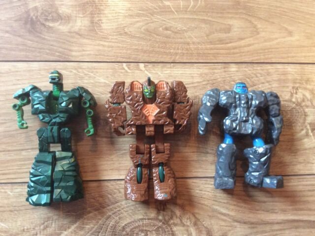 vintage rock lords gobots ation figure Granite transformers tombstone lot Magmar