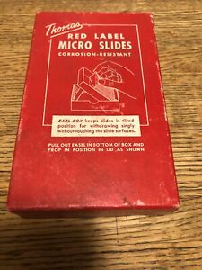 Thomas Red Label Mico Slides Corrosion - Resistant For Photography