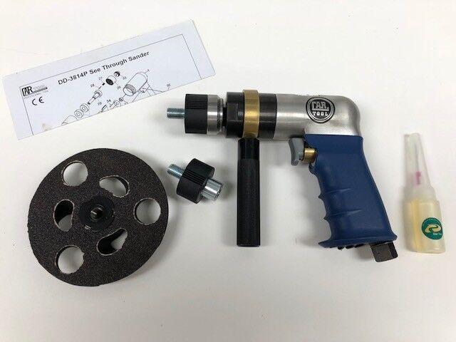 Pneumatic Pistol Grip Air Sander 5  Car Tool 3814-DD
