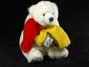 Dakotah-Teddy-Bear-1997-15-034-38cm-Malden-Mills-Polarfleece-Soft-Toy-Polarbear