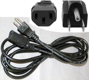 "2pack 12/""inch//1ft 18awg Short Standard Power Cord//Cable//Wire  IEC320 C13 Lot2"