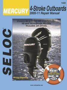 Details about 2005-2011 Mercury 4-Stroke Outboard Seloc Repair Manual on