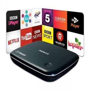 Humax HB-1100S Freesat Box HD Smart  Digital TV Receiver with Built-in Wi-Fi  689991506366