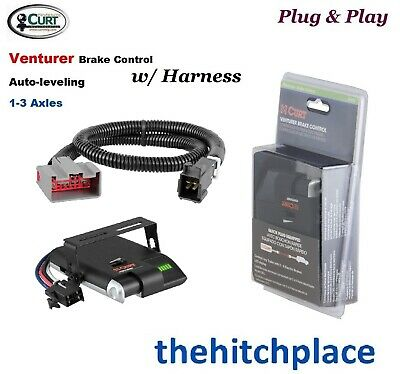 Curt 51110 51437 Venturer Brake Control and Wiring Harness Kit