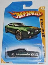 2010 Hot Wheels New Models #1 (green) '67 SHELBY GT-500  R1