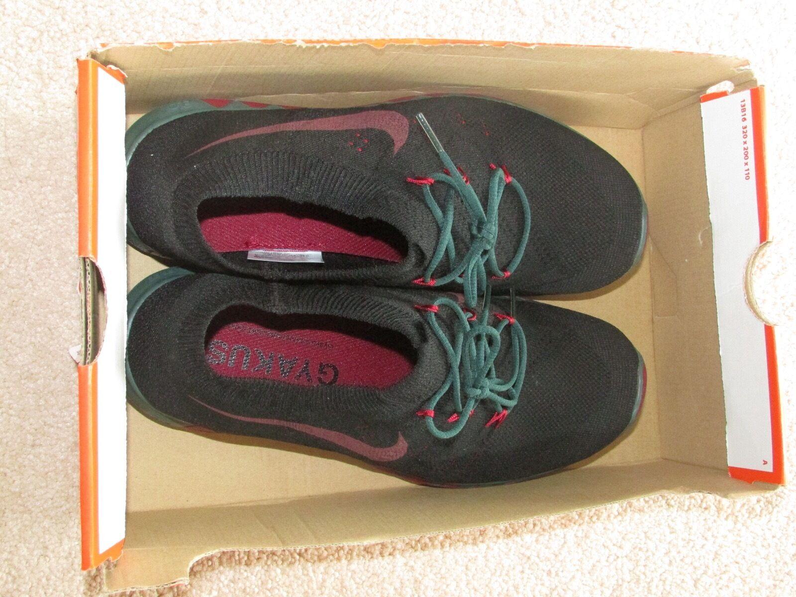 Nike free 3.0 flyknit gyakusou mens sz 8,5 8,5 sz schwarz / pro green-team rot 1daeec