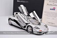 AutoArt 1:18 Benz McLaren F1 Silver