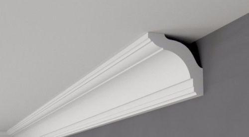 Corniche BFX4 Corniche XPS polystyrène moulure le moins cher de nombreuses Grandes Tailles 2 M de qualité