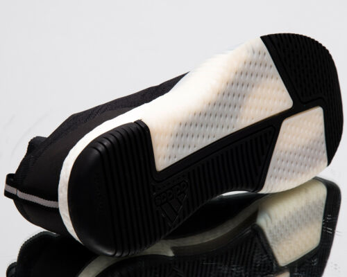Adidas Crazytrain Elite Herren Neu Schwarz Carbon Weiß Trainieren Sneakers