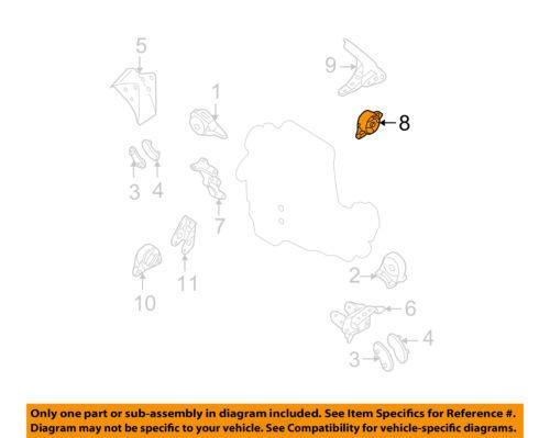 NISSAN OEM 02-06 Altima-Engine Motor Mount Torque Strut 113208J005