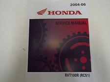 2004 2005 2006 Honda RVT1000R RC51 Service Repair Shop Manual NEW FACTORY OEM