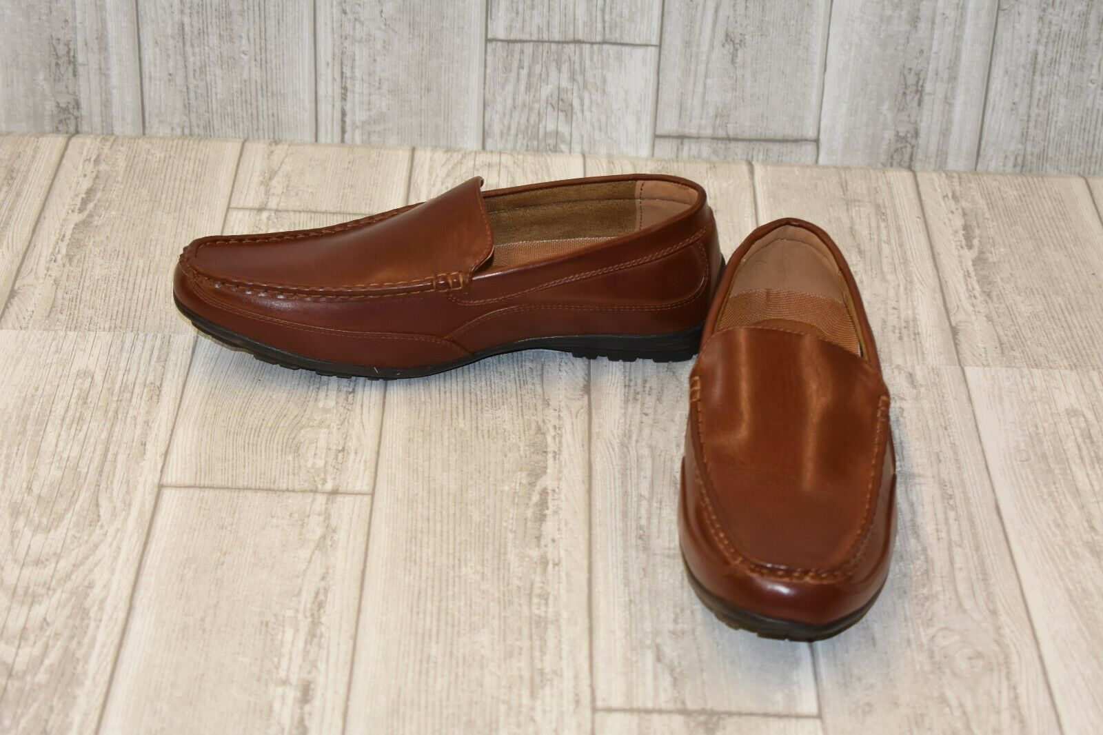 Deer Stags Drive Slip-On Loafer - Men's Size 9.5M - Brown