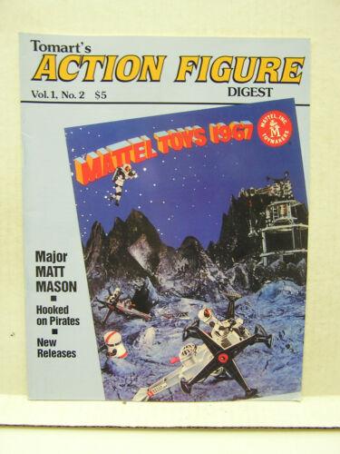 1 # 2 Mattel Toys 1967 1991 Tomart/'s ACTION FIGURE Digest Magazine Vol
