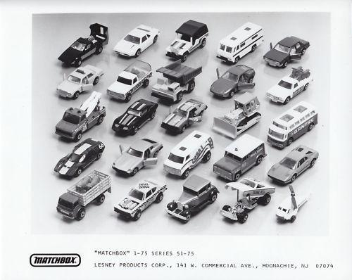 Foto de prensa EE UU 1-75 Matchbox Superfast serie 1982 III