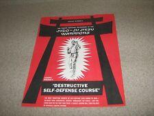 Joe Weider Bodybuilding Destructive Self Defense Course Lesson #5 Judo-Ju Jitsu