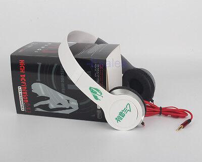 Vocaloid Miku Hatsune Headphone Headset Earphone with Box Anime collection