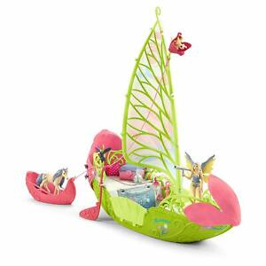 Schleich-42444-Sera-039-s-Magical-Flower-Boat-Bayala-Fairy-Set-Toy-Model-NIB